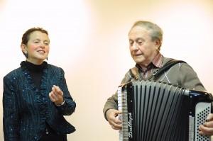Michèle Tauber et Misha Nissimov
