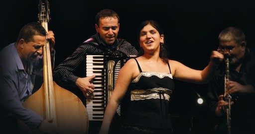 Delia Romanes et son orchestre tzigane